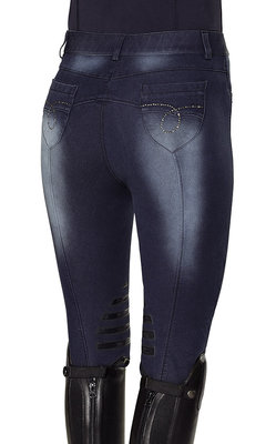 Denim rijbroek Clara MT38